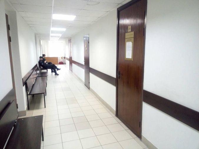 empty corridor, 25 October 2017