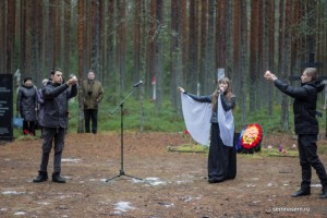 Krasny Bor, singing and dancing, 30 Oct