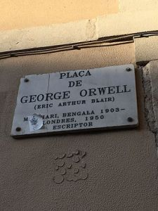 George_Orwell_Place in_Barcelona