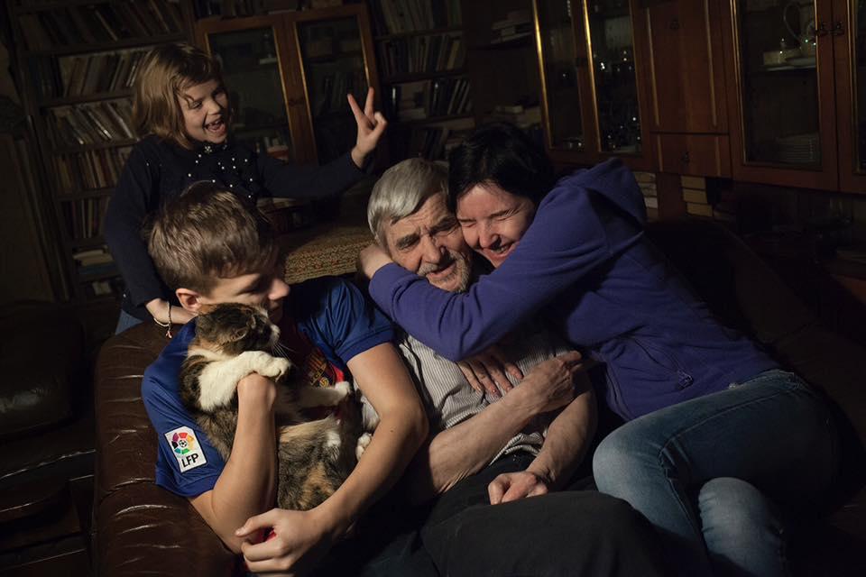 Dmitriev is home (28 January 2018)