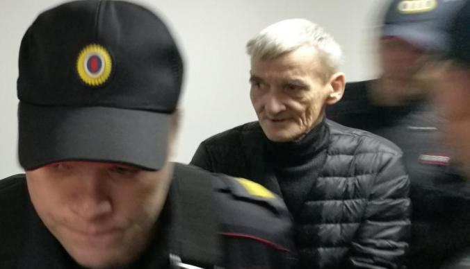 Dmitriev in court, 27 Oct 2018