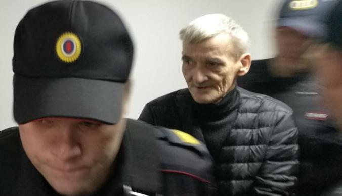Dmitriev in court, 27 Oct 2018