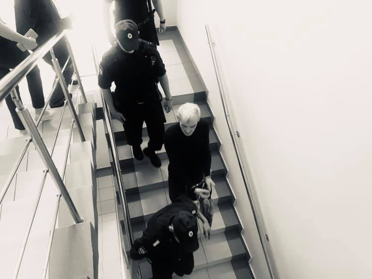 Dmitriev led downstairs (Ivleva)